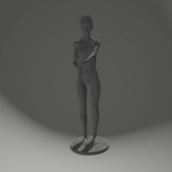Download 3D print files female with MP5, 3D-XYZ