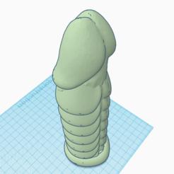 Plan imprimante 3D alien dick, 3d-3d-3d