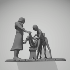 3D printer files torture scene 9, 3d-3d-3d
