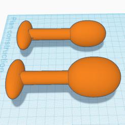 3D printer files plug's x2, 3d-3d-3d