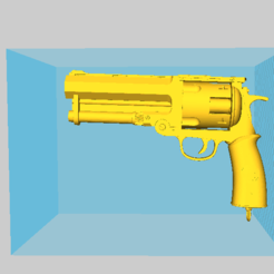 Download 3D printer designs HELLBOY smaritan Clone Pistol Cosplay, 3d-3d-3d