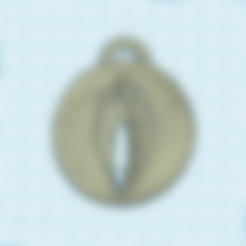 STL files key chain pussy, 3d-3d-3d