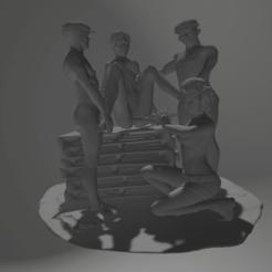 Download STL torture scene 19, 3d-3d-3d