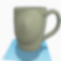 STL breast mug, 3d-3d-3d