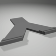 Descargar modelo 3D oblea con soporte para 1 €., 3D-XYZ