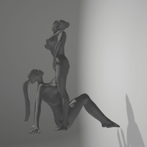 Download 3D printing designs golden shower, 3D-XYZ