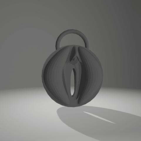 Download 3D printing models keychain vagina, 3d-3d-3d