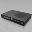 Download free STL file RaspberryPi Mediacenter case • 3D printer object, StephanL