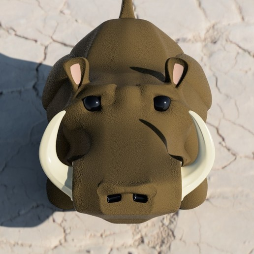 Warthy2.jpg Download free STL file Warthy • Object to 3D print, Stenoxp