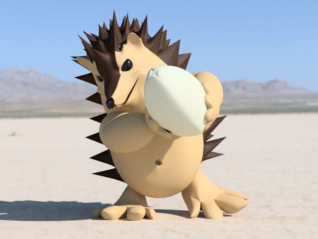 ricci_2018-Feb-10_02-15-05PM-000_CustomizedView21780495489_jpg.jpg Download free STL file Rugby player hedgehog • 3D print design, Stenoxp