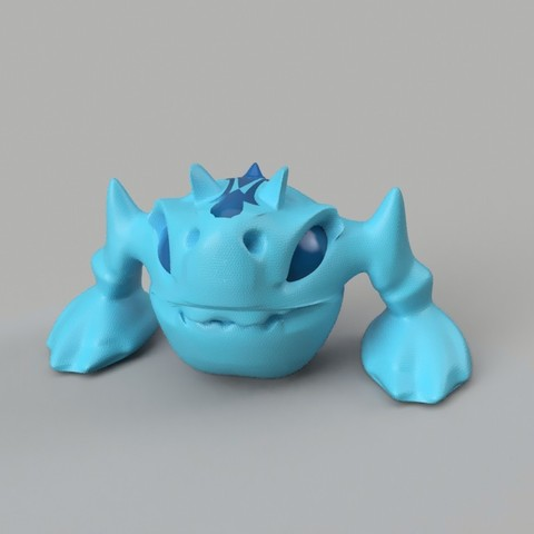 DORO_perspective_front.jpg Download free STL file D0R0 • 3D printer design, Stenoxp