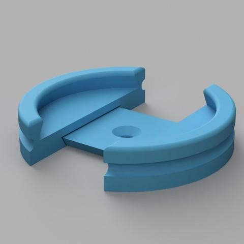 clip_print_primer.jpg Download STL file clamp primer_painting miniature • 3D printer template, Stenoxp