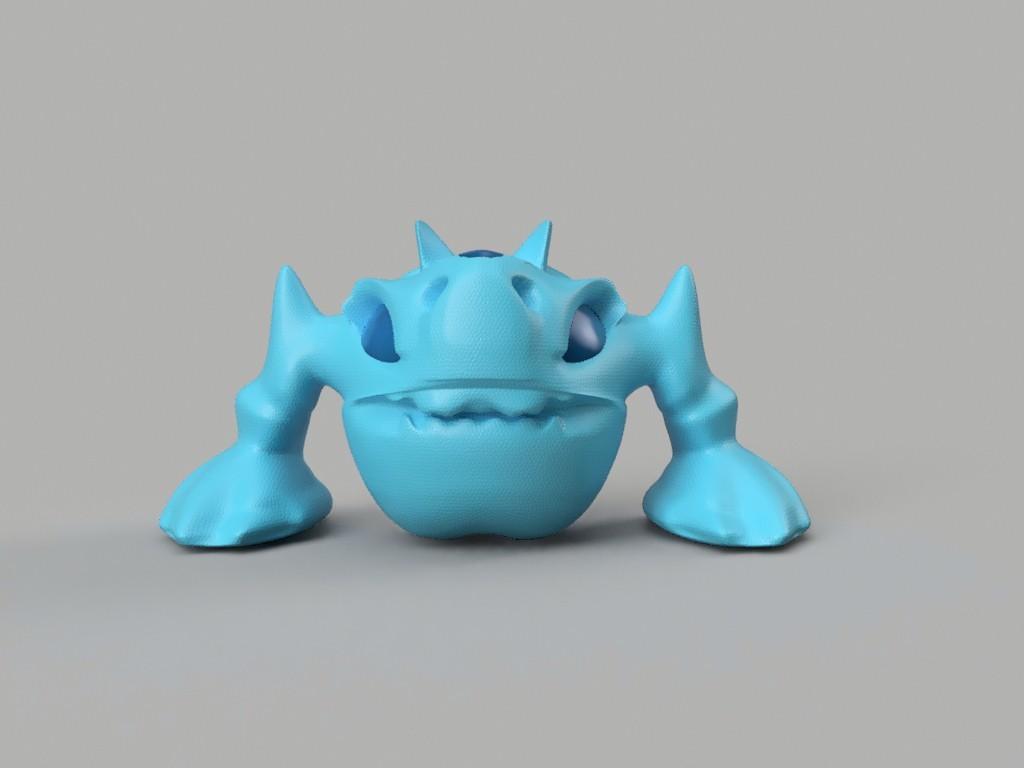 DORO_front.jpg Download free STL file D0R0 • 3D printer design, Stenoxp