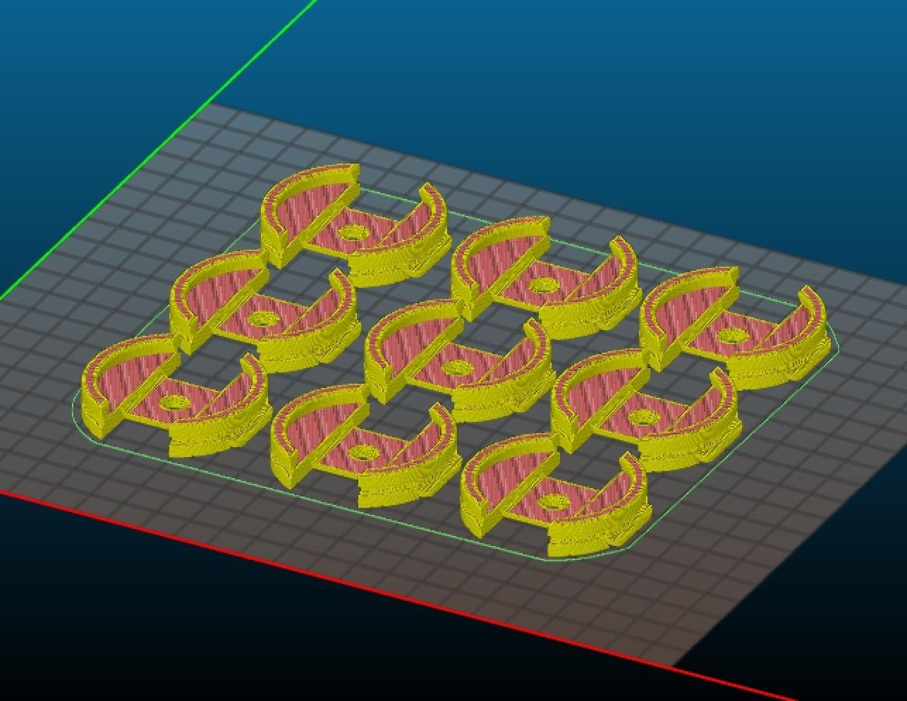 multi_print.jpeg Download STL file clamp primer_painting miniature • 3D printer template, Stenoxp