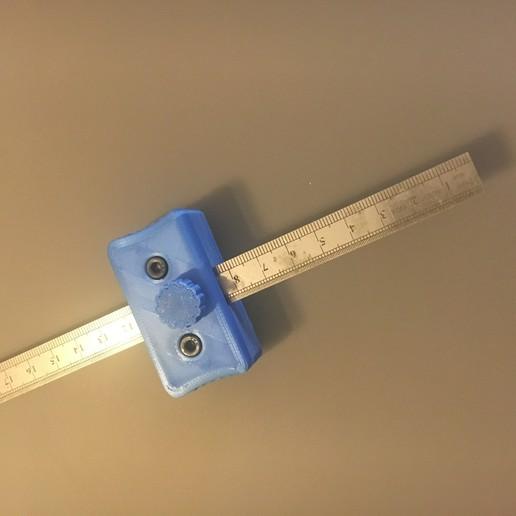 Download 3D printing models marking gauge 13mm ruler, Stenoxp