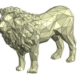 1.png Download STL file Lion • 3D printing model, BurcinEfendi