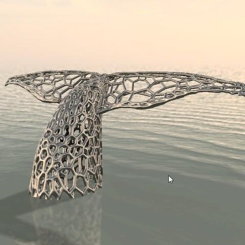 Queue de baleine 2.jpg Download OBJ file Whale • 3D printing object, FranckMinodier