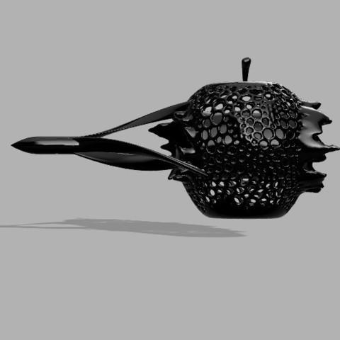 Free Apple at high speed 3D model, FranckMinodier
