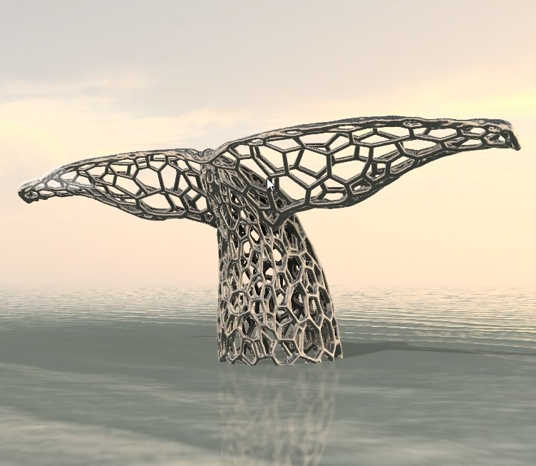 Queue de baleine 1.jpg Download OBJ file Whale • 3D printing object, FranckMinodier