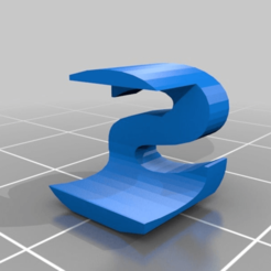 Download free 3D printer templates My Customized Two Letter Sculpture JS, Mostlydecaf