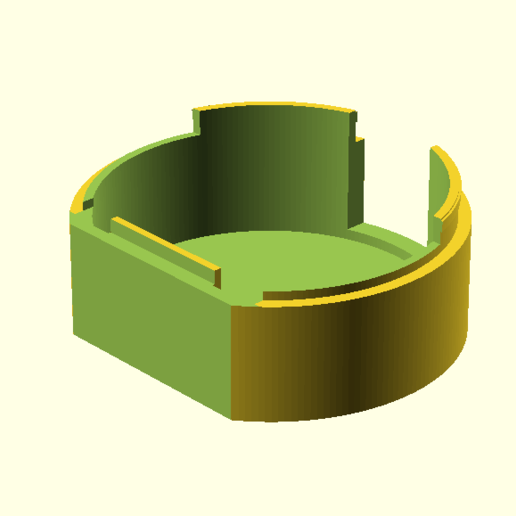 rokucap.png Download free STL file Roku Soundbridge M2000 replacement end cap • 3D printing object, Mostlydecaf