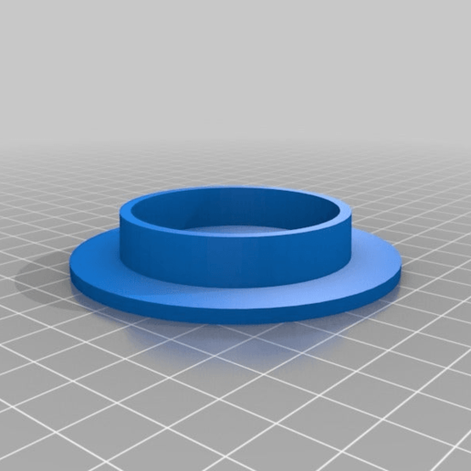 Download free 3D printer model 53mm spool hub, Mostlydecaf