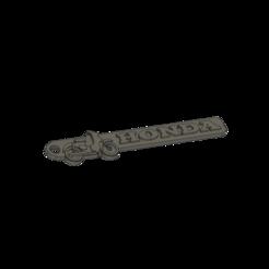 Download free 3D printing templates Honda Cub Keychain, motherfucker