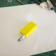 Download free STL file Compact screwdriver with bit eject button • 3D print design, motherfucker