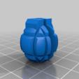 cb065764ddc3b455e37c5e5f4e5dbb81.png Download free SCAD file Grenade Spoke Bead • 3D printer object, motherfucker