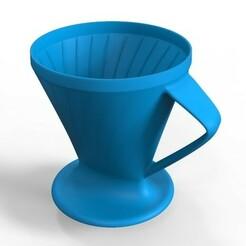 untitled.457.jpg Télécharger fichier OBJ Filtre à café en forme de cône • Modèle pour imprimante 3D, Osvali