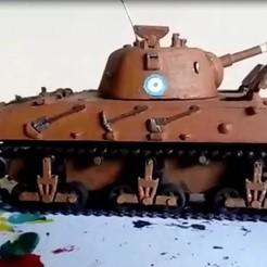 Modèle 3D Argentino réservoir Nahuel Dl-43 3d Impression, Nairda