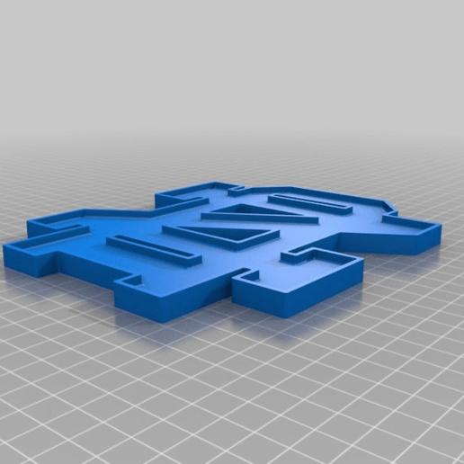 Download free 3D printer designs ND Flat, nicholas23