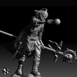 Download 3D printing files SciFi Wizard/Psyker, MazaYMarin