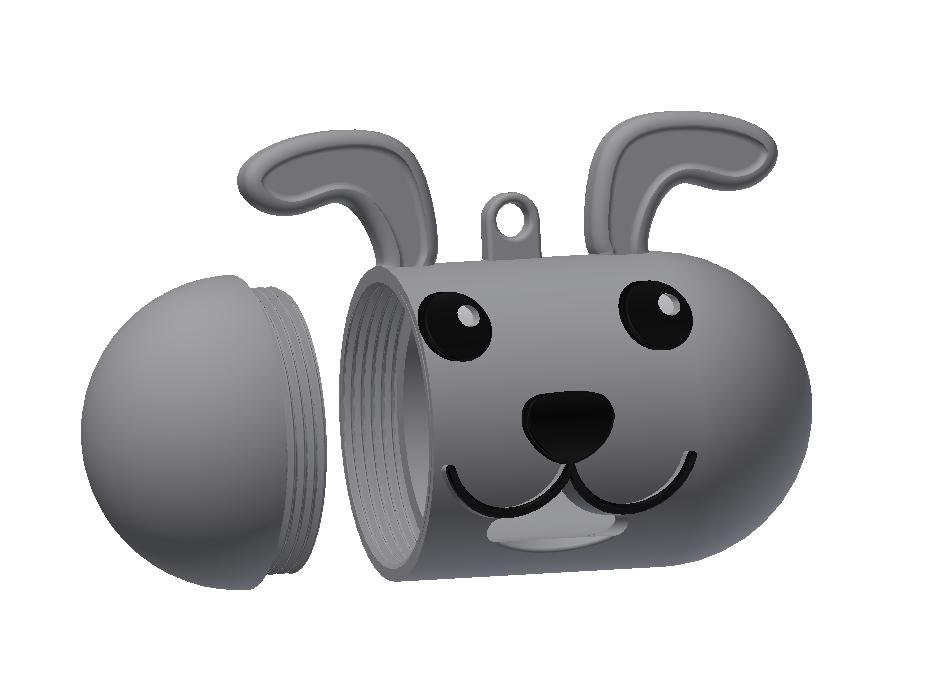 Capture 2.PNG Télécharger fichier STL gratuit Porte sac pour déjection canine • Modèle pour imprimante 3D, Ted3D