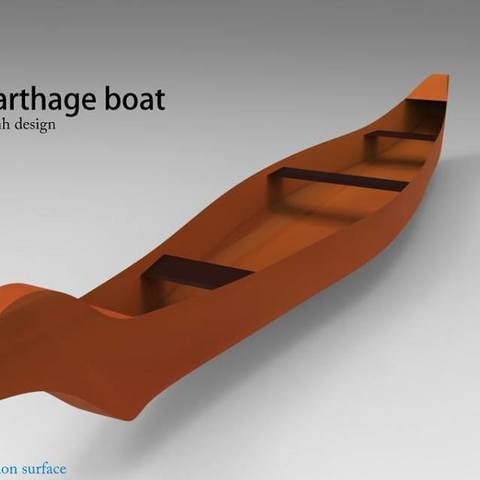 Download free 3D printing templates boat 3d model for printing, kasraoui