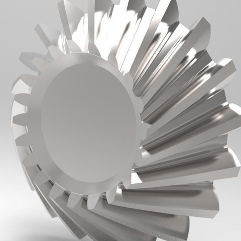helical bevel gear STL file, kasraoui