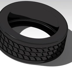 3D file tire ( tyre ) 3d model for printing, kasraoui