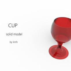 Download 3D printer templates cup - coupe, kasraoui