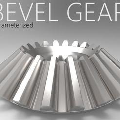 bevel gear.jpg Download STL file straight bevel gear • 3D print object, kasraoui