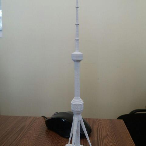 3D print model Tashkent TV Tower, nnnn2010
