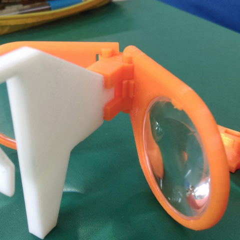 Capture d'écran 2018-01-09 à 09.59.20.png Download free STL file Virtual Glasses (2nd generation lens) • 3D printer object, NickChung