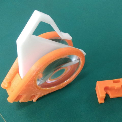 Capture d'écran 2018-01-09 à 09.59.40.png Download free STL file Virtual Glasses (2nd generation lens) • 3D printer object, NickChung