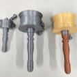 Capture d'écran 2018-01-08 à 15.05.42.png Download free STL file Hand Prayer Wheel (Diameter 5cm) • 3D printable design, NickChung
