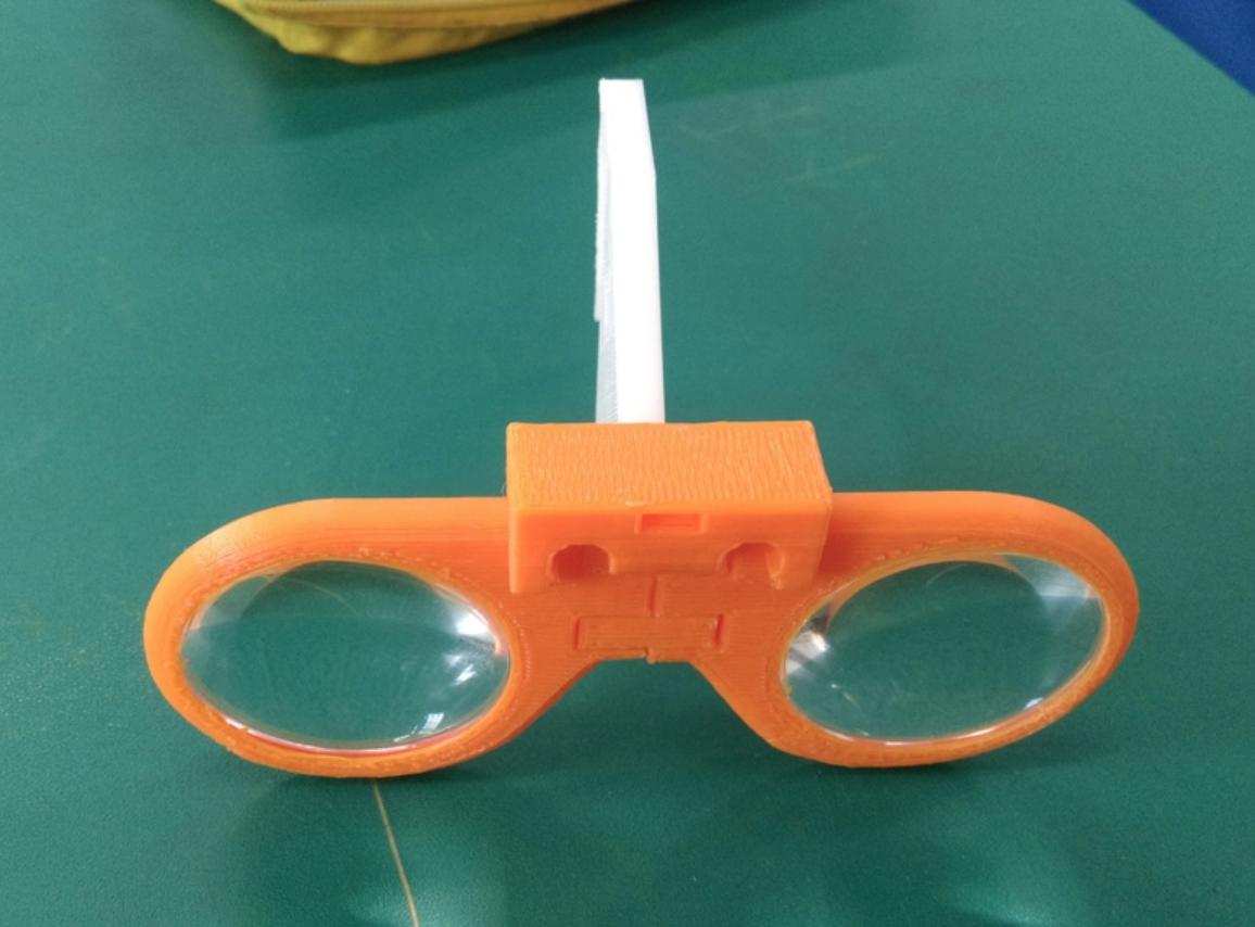 Capture d'écran 2018-01-09 à 09.59.33.png Download free STL file Virtual Glasses (2nd generation lens) • 3D printer object, NickChung