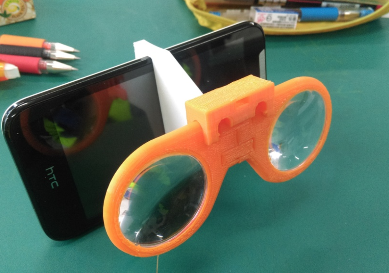 Capture d'écran 2018-01-09 à 09.59.10.png Download free STL file Virtual Glasses (2nd generation lens) • 3D printer object, NickChung
