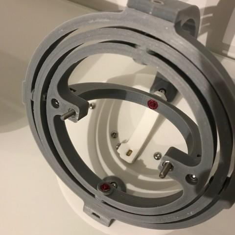 IMG_1554.JPG Télécharger fichier STL Gyro Winder / Watch Winder / Remontoir Montre • Objet pour impression 3D, NedalLive