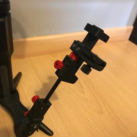 IMG_0986.jpg Download STL file steadicam Smartphone Mount • 3D printer template, NedalLive