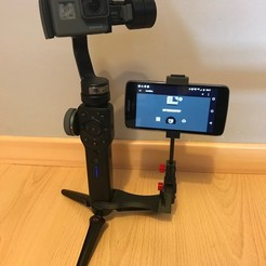 Download STL steadicam Smartphone Mount, NedalLive