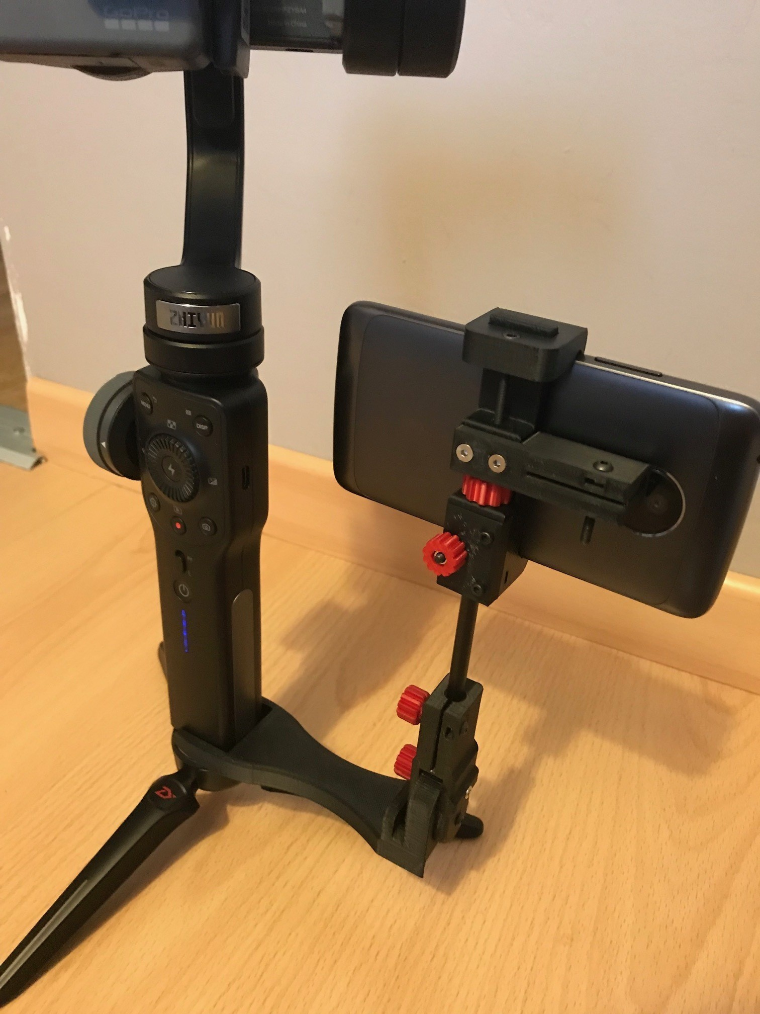 IMG_0977.jpg Download STL file steadicam Smartphone Mount • 3D printer template, NedalLive