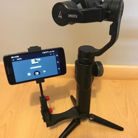 IMG_0981.jpg Download STL file steadicam Smartphone Mount • 3D printer template, NedalLive